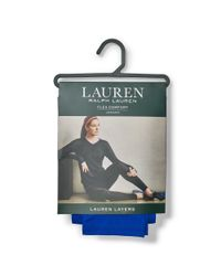 Ralph Lauren - Blue Convertible-waistband Legging - Lyst