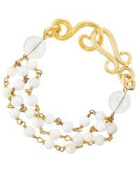 Stephanie Kantis | Metallic Multi-strand Bracelet | Lyst