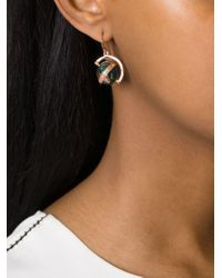 True Rocks | Green Globe Drop Earrings | Lyst