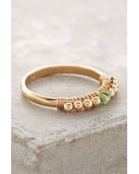 Anthropologie - Metallic Birthstone Stacking Ring - Lyst