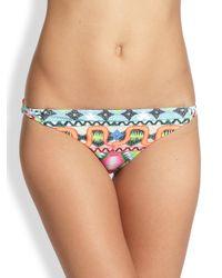 Mara Hoffman | Multicolor Basket Weave Bikini Bottom | Lyst