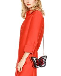 Kate Spade   Black Wing It Small Embellished Butterfly Clutch   Lyst