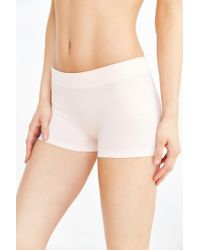 Urban Outfitters - White Seamless Safety Short - Lyst