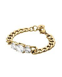 Dyrberg/Kern | Metallic Thrace Bracelet | Lyst