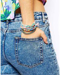 Hipanema - Multicolor Fluro Multicoloured Friendship Bracelet - Lyst