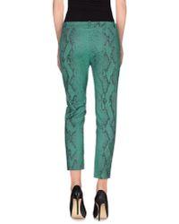 Pinko - Green Casual Trouser - Lyst