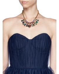 Scho - Multicolor Electroplate Crystal Necklace - Lyst