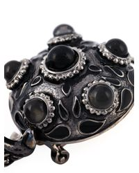DSquared² | Black Embellished Earrings | Lyst