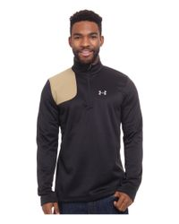 Under Armour | Black Borderland 1/4 Zip for Men | Lyst