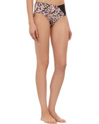 Giejo - Multicolor Abstract Floral-Print High-Rise Brief - Lyst
