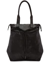 Julius | Black Calf Leather Tote for Men | Lyst