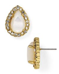 kate spade new york | Metallic Butter Up Stud Earrings | Lyst