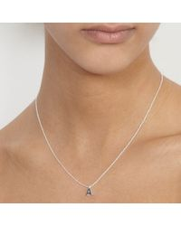 Astley Clarke | Metallic Initial Y Charm Pendant | Lyst