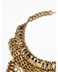 Noir Jewelry - Metallic Xavier Statement Collar - Lyst