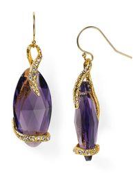 Alexis Bittar | Purple Elements Suspended Vine Earrings | Lyst