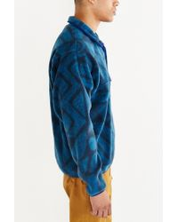 Patagonia | Blue Synchilla Snap-t Fleece Pullover Jacket | Lyst