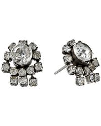 DANNIJO | Metallic Evse Stud Earrings | Lyst