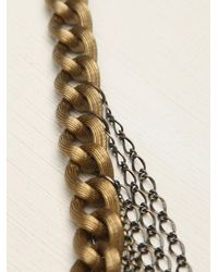 Free People - Metallic Christophe Shoulder Chain - Lyst