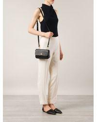 Vivienne Westwood - Black Orb Fever Leather Cross-Body Bag - Lyst