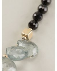 Uzerai Edits | Topaz & Black Spinel Necklace | Lyst