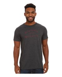 Patagonia - Black Wall Rats Cotton/poly T-shirt for Men - Lyst