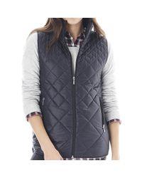 G.H. Bass & Co. | Black Bane Packable Puffer Vest | Lyst