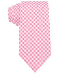 Michael Kors - Pink Michael Capri Gingham Tie for Men - Lyst