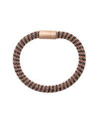 Carolina Bucci | Pink Storm Sparkle Twister Band Bracelet | Lyst