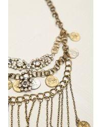 GOLDBARR - Metallic Mykonos Layered Chain Necklace - Lyst