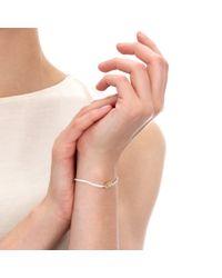 Astley Clarke - Yellow Lotus Woven Friendship Bracelet - Lyst