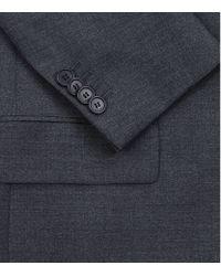 Givenchy - Blue Lapel Trim Classic Wool Suit for Men - Lyst