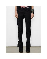 Denim & Supply Ralph Lauren - Black Skinny Freedom Cargo Pant - Lyst