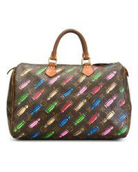 Louis Vuitton - Brown Mini Bullet 'speedy' Tote - Lyst