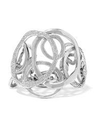 Oscar de la Renta - Metallic Silver-tone Bracelet - Lyst
