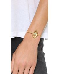Vanessa Mooney | Metallic Through The Clouds Cuff Bracelet - Gold Multi | Lyst