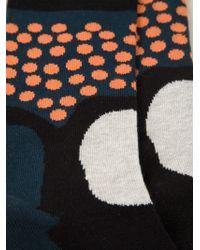 Henrik Vibskov - Multicolor 'et' Socks for Men - Lyst