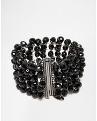 Coast | Black Bella Bracelet | Lyst