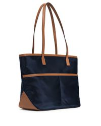 MICHAEL Michael Kors | Blue Kempton Nylon Medium Pocket Tote | Lyst