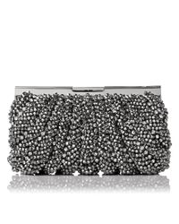 L.K.Bennett | Metallic Eliza Beaded Clutch | Lyst
