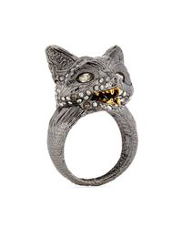 Alexis Bittar | Metallic Fox Cocktail Ring | Lyst