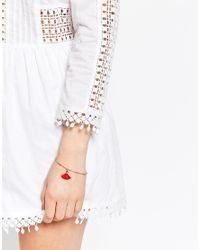 Dogeared - Metallic Free Spirit Gold Plated Tassel Bracelet - Lyst