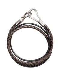 H&M - Brown Braided Bracelet for Men - Lyst