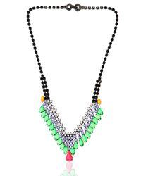 Tom Binns | Black Electro Clash Nova Necklace | Lyst