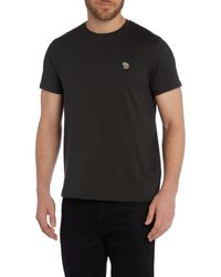 Paul Smith - Black Zebra Logo Regular Fit T Shirt for Men - Lyst