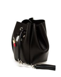 Saint Laurent - Black Shoulder Bag - Lyst