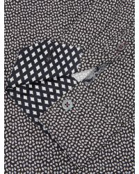 Ted Baker - Blue Scatter Leaf Print Shirt for Men - Lyst
