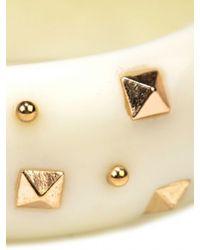 Adia Kibur | Metallic Resin Stud Bracelet | Lyst