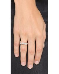 Monica Vinader - Pink Baja Ring - Diamond/rose Gold - Lyst