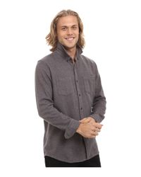 Rip Curl | Gray Bodie Long Sleeve Flannel for Men | Lyst