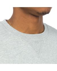 A.P.C. | Gray Hyde Park Sweatshirt In Heathered Grey for Men | Lyst